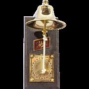 Vintage Schlitz Ship's Bell Tip Bell