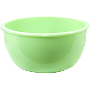Vintage Jadeite Mixing Bowl With Tab Handles
