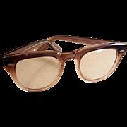 Vintage Bausch & Lomb Wayfarer Plastic Horn Rimmed 1950's Glasses