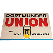 Dortmunder Union German Beer Sign