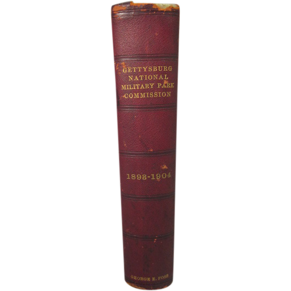 "Antique ""Gettysburg National Military Park Commission 1893-1904,"" George E. Foss"