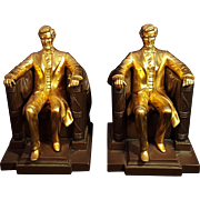 Jennings Brothers Lincoln Memorial Bookends