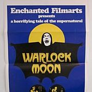 "Original Movie poster ""WARLOCK MOON"""