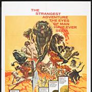 "Original Movie Poster ""Sands of the Kalahari"""