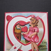 Very Cute Vintage Fold Out Valentine