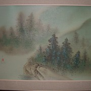 David Lee's Quiet Morning Signed, Stamped & Numbered Lithograph