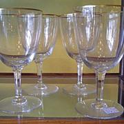 Val St. Lambert Stemware Crystal Glassware
