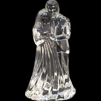 Waterford Crystal Bride and Groom Sculpture