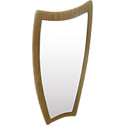 Mid Century Organic Shape Wall Mirror