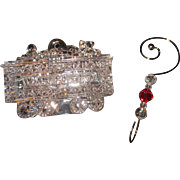 2010 Waterford Crystal Train or Coal Car Christmas Ornament