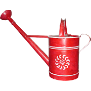 Early 20th Century Painted Swedish Watering Can