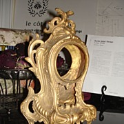 French Louis XV style Bronze Mantel Clock Housing