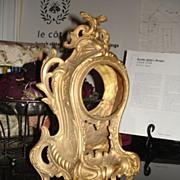 French Louis XV style Bronze Mantel Clock Housing