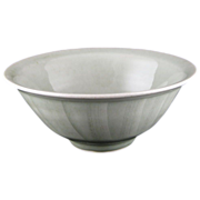 David Frith (British b.1943) Studio Pottery Celadon Glazed Bowl