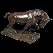 John Rattenbury Skeaping, RA (British 1901–1980) Work Horse (1978) Bronze