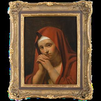 18th/19th Century Continental School Master Portrait of a Lady