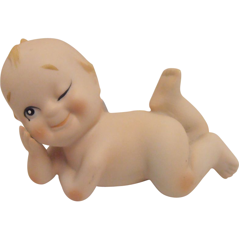 Blue Wings Kewpie Lefton
