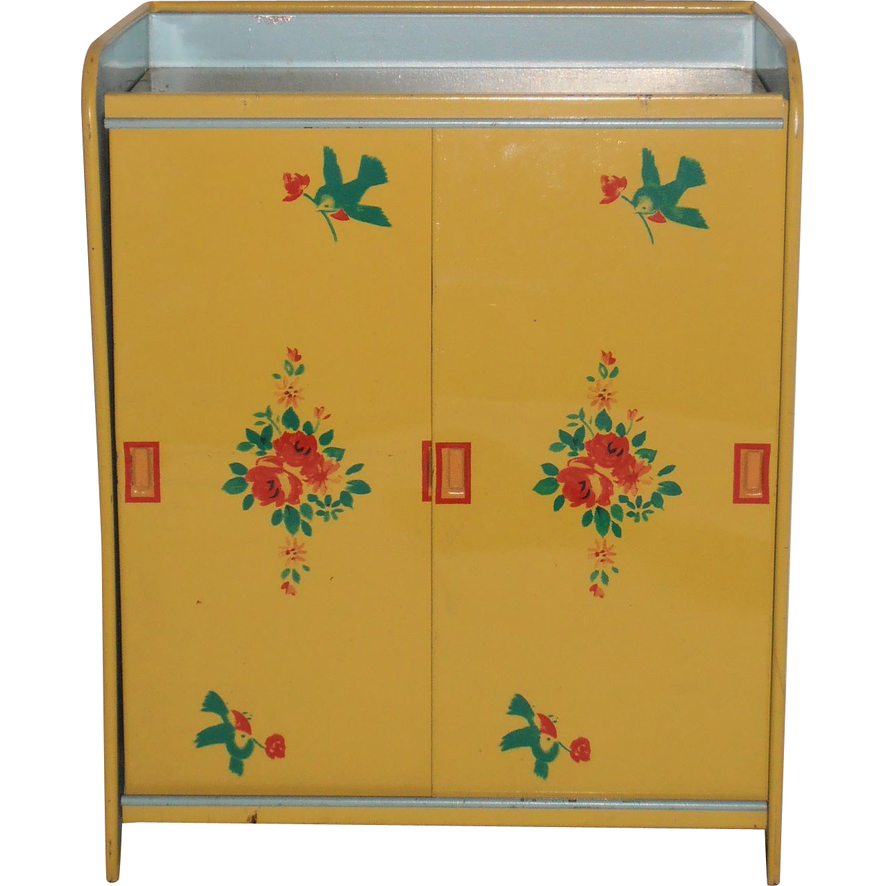 Doll Wardrobe, J Chein, Litho Tin