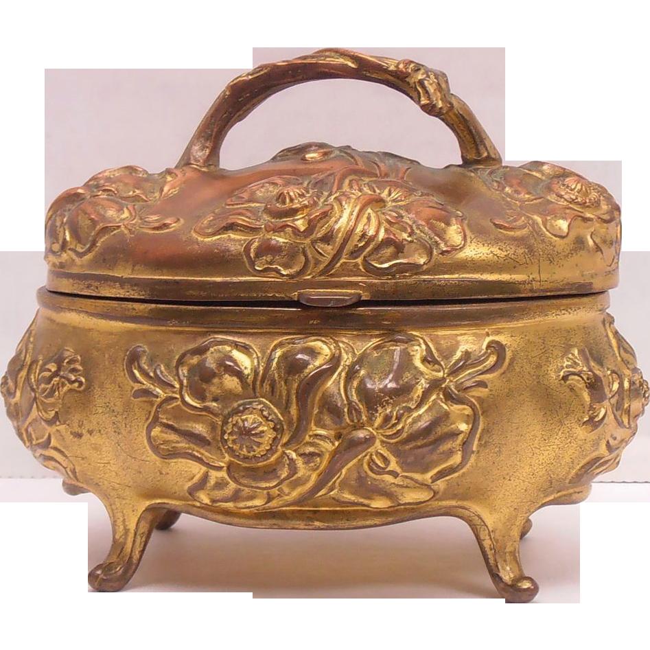 Art Nouveau Jewelry Casket Jennings Bros.