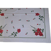 Roses 50's Tablecloth