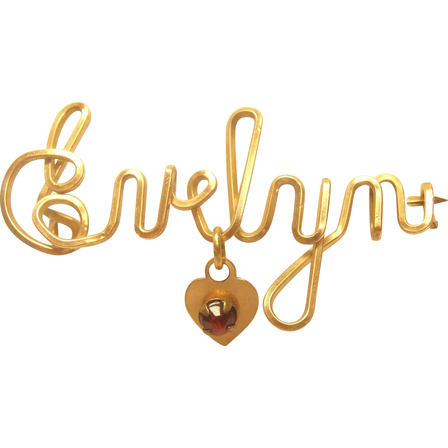 Evelyn Name Pin