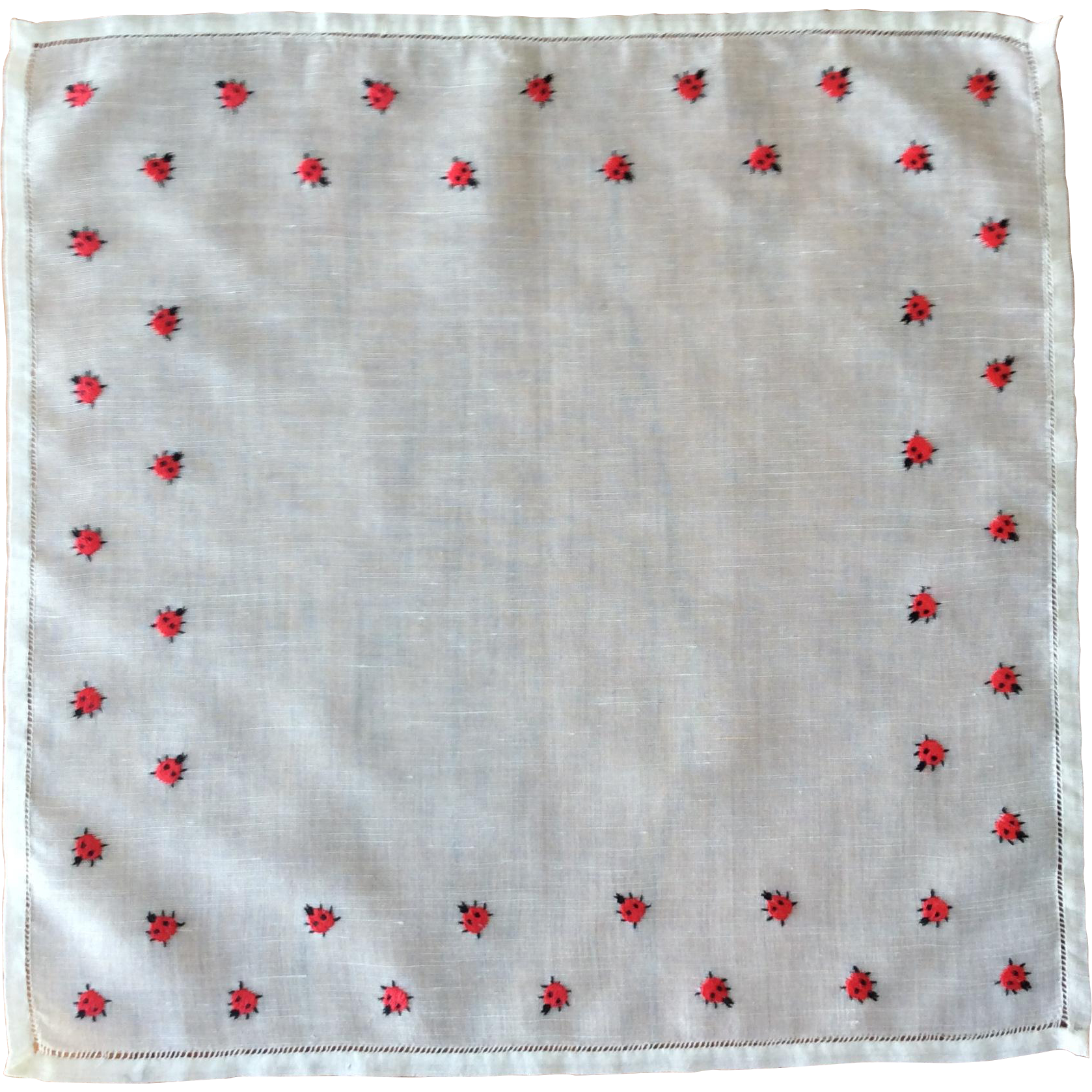 Lady Bug Handkerchief