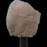 Lace Doll Bonnet