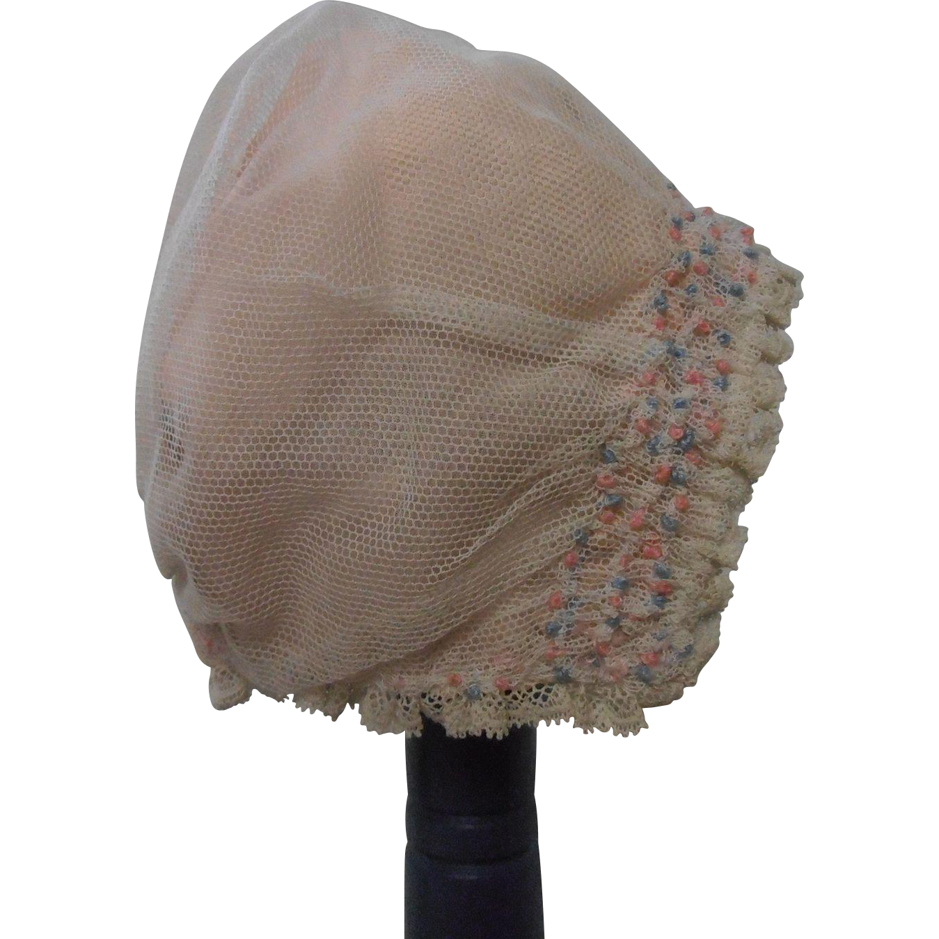 Lace Doll Bonnet