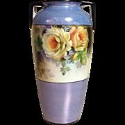 Deco Era Vase Hand Painted