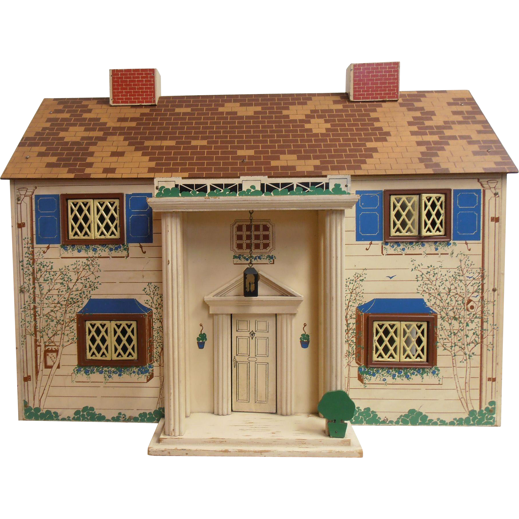Keystone Colonial Dollhouse Birchs