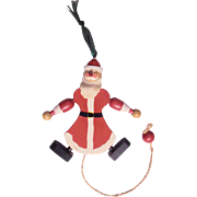 Pull String Toy Santa Austria