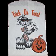 Halloween Paper Bags Cat Jack o Lantern