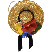 Doll Straw Hat Vogue Ginny