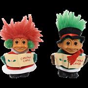 Troll Dolls Christmas 1990