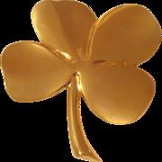 4 Leaf Clover Paperweight 24K GP