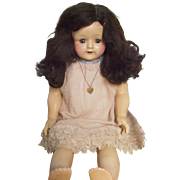 Effanbee Rosemary Doll 1930's  Heart Necklace