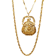 HMS Purse Necklace