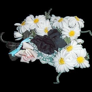 Millinery Flowers Daisies Roses