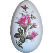 Moss Rose Porcelain Egg Box