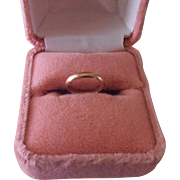 Baby Ring 14K RGP Ring Box