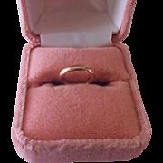 Baby Ring 14K RGP Ring Box