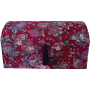 Jewelry Box Fabric Covered Mele