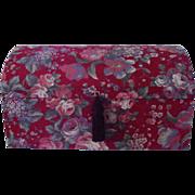 Jewelry Box Fabric Covered Mele