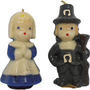 Gurley Pilgrim Couple Candles