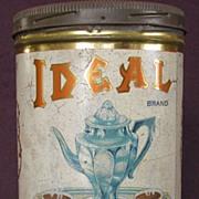 1920's Ideal Coffee Tin