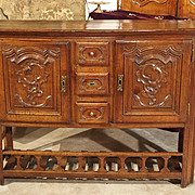 Antique Country French Kitchen Buffet from the Early 1800s