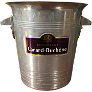 'Champagne Canard Duchene' Vintage Champagne Bucket from France