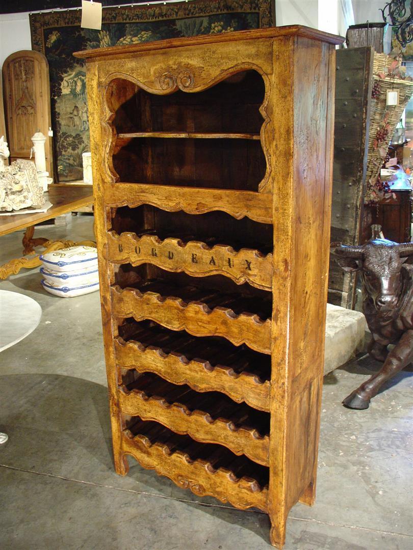 """""""Bordeaux"""" 35 Bottle Wine Cabinet from France"""
