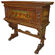 18th Century Italian Walnut Wood Cabinet