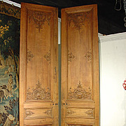 Pair of Tall Regence Style French Doors from the Early 1800s